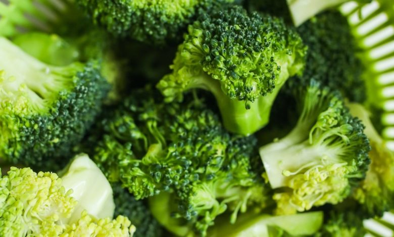 Brócoli y almendras