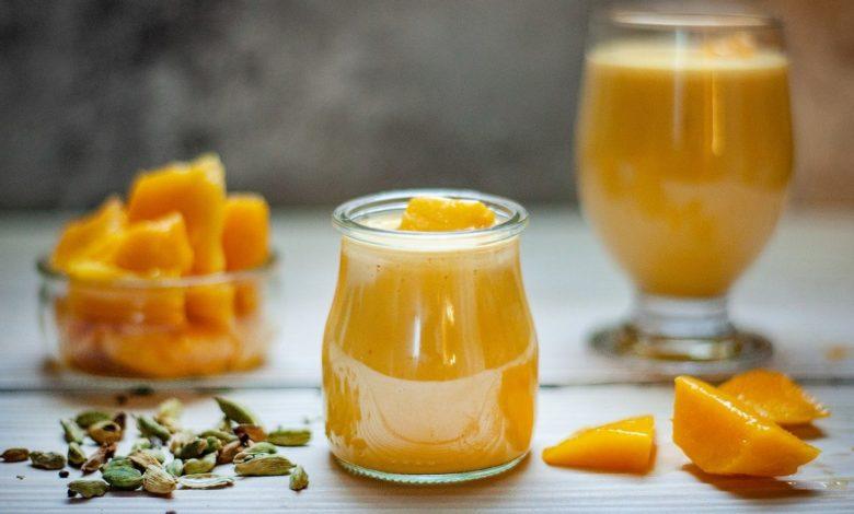 Helado mango