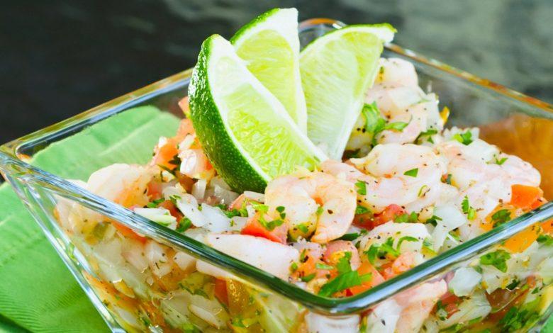 Ceviche de pescado al estilo Acapulco