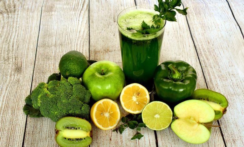 Jugo verde: ingredientes para tu cabello