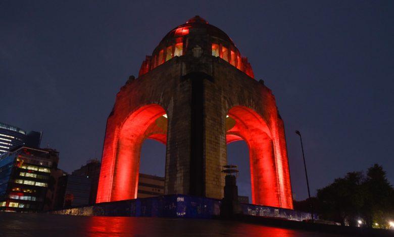Se ilumina de rojo