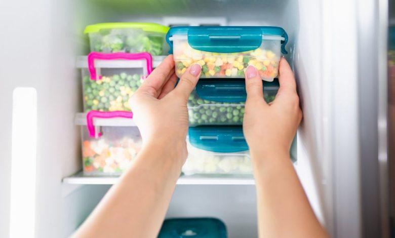 4 errores al congelar alimentos