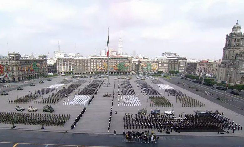 3 datos del desfile militar por la Independencia de México