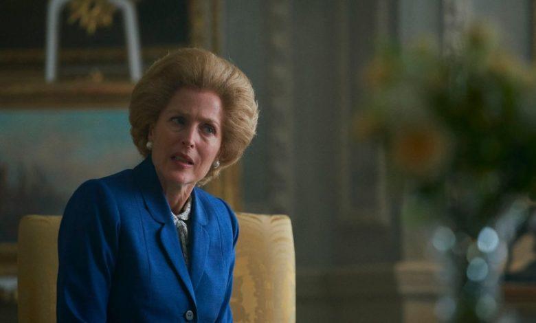Gillian Anderson de Dana Scully a Margaret Thatcher ¡gran actriz!