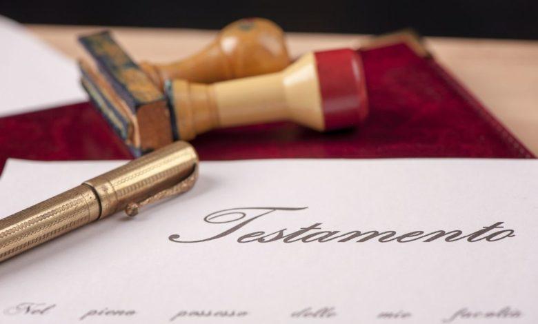 Septiembre, mes del testamento 2021: costos y beneficios