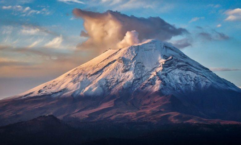 El Popocatépetl está muy activo ¿qué hacer en caso de exhalación de cenizas?