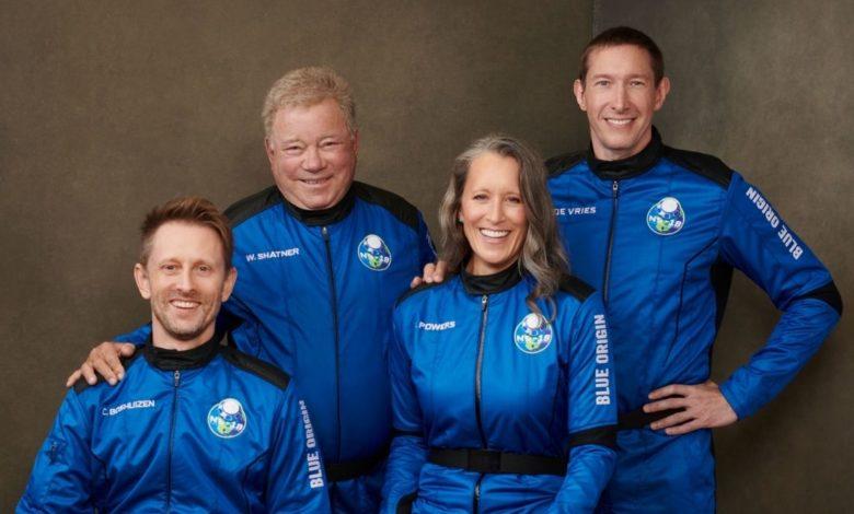 William Shatner de 'Star Trek' viaja al espacio a los 90 años